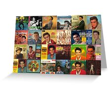 Elvis Artwork - collage  Greeting Card