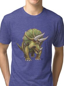 Animal Parade Triceratops Tri-blend T-Shirt