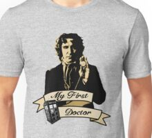 Doctor Who - My first Doctor (Who) eighth 9th Paul McGann Unisex T-Shirt