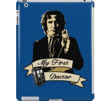 Doctor Who - My first Doctor (Who) eighth 9th Paul McGann iPad Case/Skin