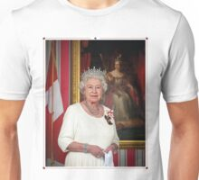 The Queen in Canada Unisex T-Shirt