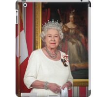The Queen in Canada iPad Case/Skin