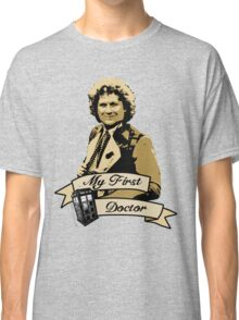 Doctor Who - My first Doctor (Who) sixth 6th Colin Baker Classic T-Shirt