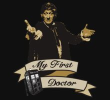 Doctor Who - My first Doctor (Who) Third 3rd Jon Pertwee Kids Tee