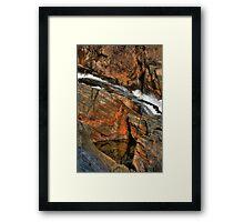 Livermore RockColors Framed Print