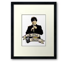 Doctor Who - My first Doctor (Who) Second 2nd Patrick Troughton Framed Print