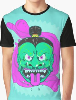 Demon mask Graphic T-Shirt