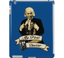 Doctor Who - My first Doctor (Who) First 1st William Hartnell iPad Case/Skin