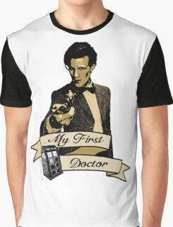 Doctor Who - My first Doctor (Who) Eleventh 11th Matt Smith Graphic T-Shirt