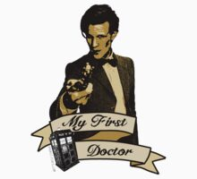 Doctor Who - My first Doctor (Who) Eleventh 11th Matt Smith One Piece - Long Sleeve
