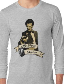 Doctor Who - My first Doctor (Who) Eleventh 11th Matt Smith Long Sleeve T-Shirt