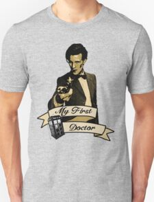 Doctor Who - My first Doctor (Who) Eleventh 11th Matt Smith Unisex T-Shirt