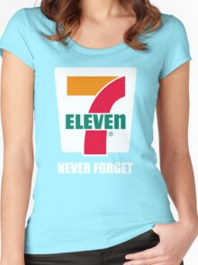 7 eleven Donald Trump Women's Fitted Scoop T-Shirt