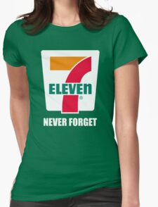 7 eleven Donald Trump Womens Fitted T-Shirt