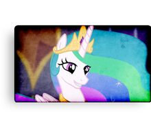 CELESTIA'S SMILE Canvas Print
