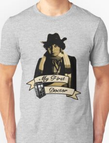 Doctor Who - My first Doctor (Who) Fourth 4th Tom Baker T-Shirt