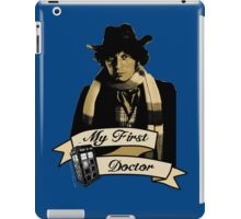 Doctor Who - My first Doctor (Who) Fourth 4th Tom Baker iPad Case/Skin