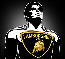 Super Lamborghini Photographic Print