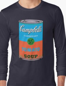 Campbell's Soup Andy Warhol Long Sleeve T-Shirt