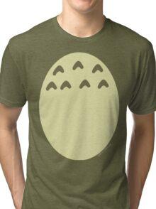 My Neighbor Totoro belly Tri-blend T-Shirt