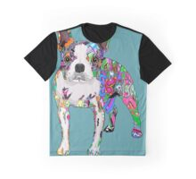 Graffiti dog Graphic T-Shirt