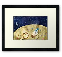 Looking up to the Stars Framed Print