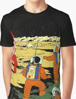 Tintin in Space Graphic T-Shirt