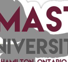 McMaster with Marauder Sticker