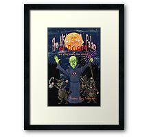 The NSA Puzzle Palace of Doom Framed Print