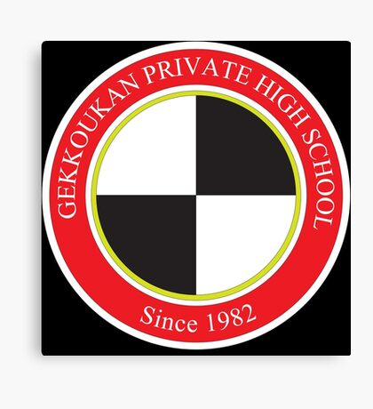 Gekkoukan Private High School Canvas Print