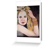 Portrait V Greeting Card