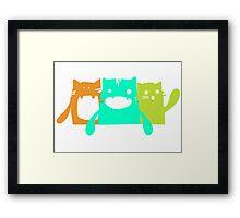 Krazy Cats Framed Print