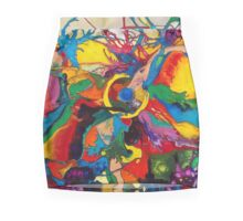 Disintegration of a Highly Colored Fish Eye Mini Skirt