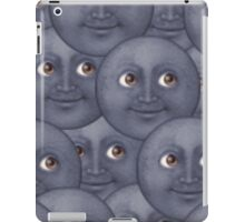 Moon emoji design iPad Case/Skin