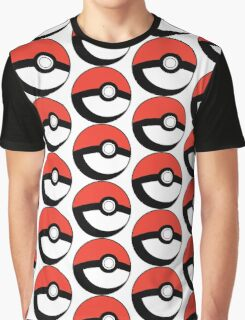 Pokeball Transparent Graphic T-Shirt