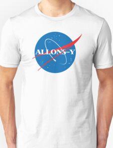 Allons-y NASA logo Unisex T-Shirt