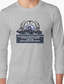 EDF - I am the Earth Defense Force Long Sleeve T-Shirt