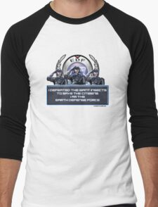 EDF - I am the Earth Defense Force Men's Baseball ¾ T-Shirt