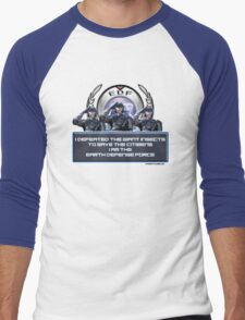 EDF - I am the Earth Defense Force Men's Baseball ¾ T-Shirt