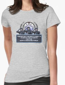 EDF - I am the Earth Defense Force Womens Fitted T-Shirt