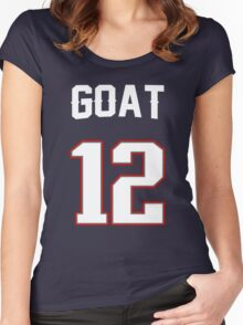 GOAT 12 Women's Fitted Scoop T-Shirt