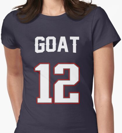 GOAT 12 Womens Fitted T-Shirt
