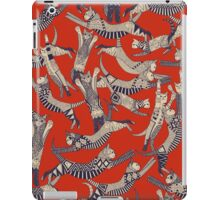 cat party retro iPad Case/Skin
