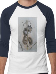 squirrels original Men's Baseball ¾ T-Shirt