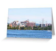 Burlington, Ontario, Canada skyline Greeting Card