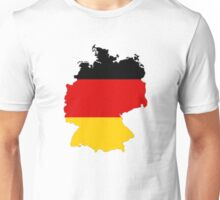 Germany Map And Flag Unisex T-Shirt