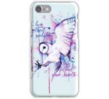 Live Without The Sunlight Owl iPhone Case/Skin