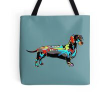 Graffiti Dachshund  Tote Bag