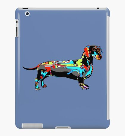 Graffiti Dachshund  iPad Case/Skin