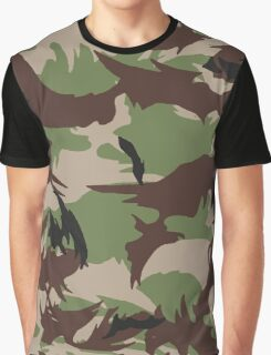 Pixel camouflage green Graphic T-Shirt